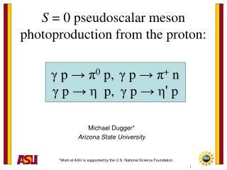 Michael Dugger Arizona State University