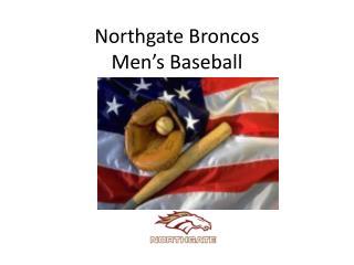 Northgate Broncos Men's Baseball