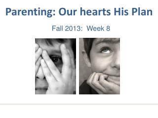 Fall 2013:  Week  8