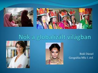 Nők a globalizált világban