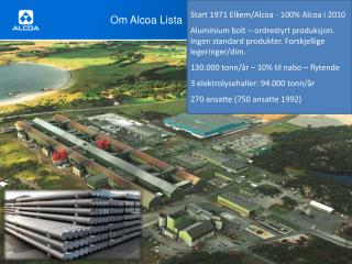 Om Alcoa Lista