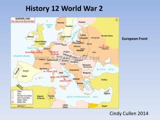 History 12 World War 2