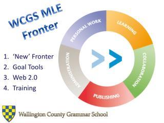 WCGS MLE Fronter