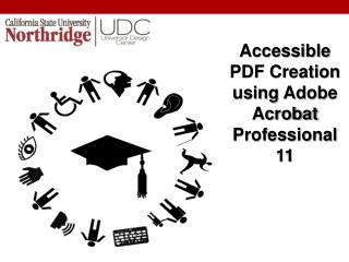 Accessible PDF Creation using Adobe Acrobat Professional 11