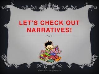 Let's check out narratives!