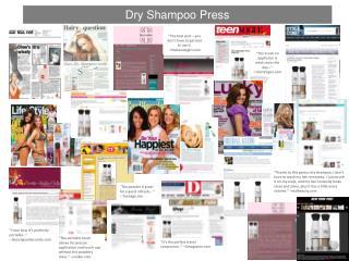 Dry Shampoo Press