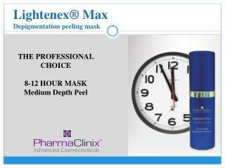 Lightenex® Max Depigmentation peeling mask