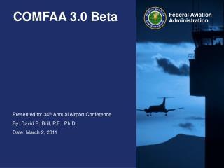 COMFAA 3.0 Beta