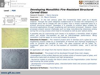 Developing Monolithic Fire-Resistant Structural Curved Glass