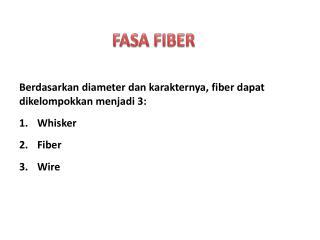 FASA FIBER