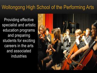 Wollongong High School of the Performing Arts
