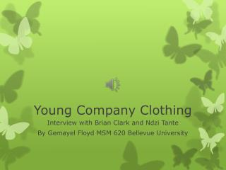 Young Company Clothing