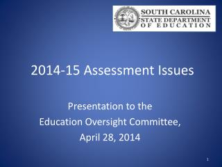 2014-15 Assessment  Issues
