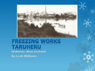 Freezing works Taruheru