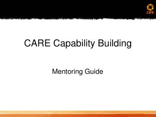 CARE Capability Building