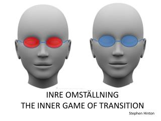 INRE OMSTÄLLNING THE INNER GAME OF TRANSITION