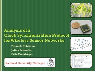 Analysis of a  Clock Synchronization Protocol  for Wireless Sensor Networks
