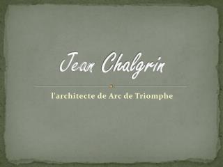 Jean  Chalgrin