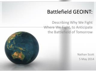 Battlefield GEOINT :
