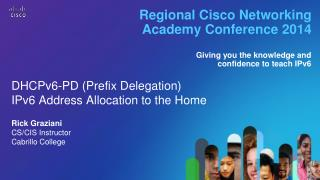 Regional Cisco Networking Academy Conference 2014
