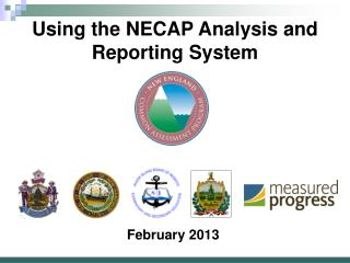 Using the NECAP Analysis and Reporting System