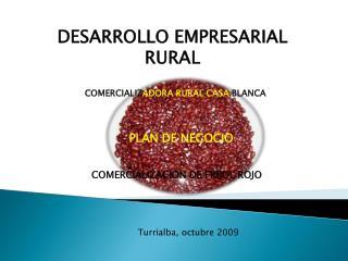 DESARROLLO EMPRESARIAL RURAL