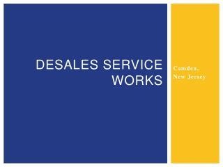 DeSales  service works