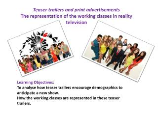 Teaser trailers and  print advertisements