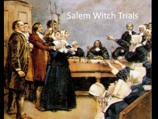 salem witch trials and mccarthyism Letter to the editor seizure of cohen records akin to salem witch trials, mccarthyism whether you like donald trump, don't like donald trump, or are indifferent to trump, what happened.