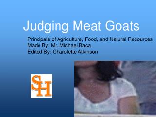 Judging Meat Goats