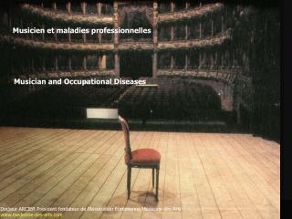 Musicien et  maladies professionnelles