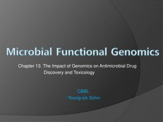 Microbial Functional Genomics