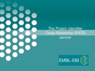 The Protein Identifier Cross-Reference (PICR) service