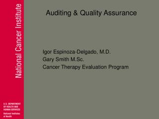 Auditing & Quality Assurance