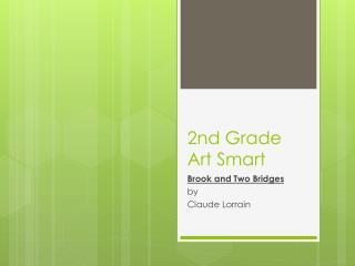 2nd Grade Art Smart