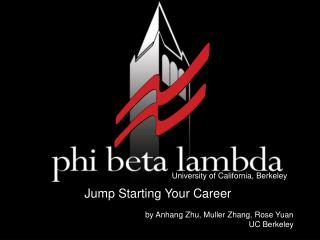 Jump Starting Your Career