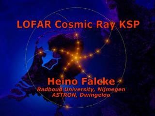 LOFAR Cosmic Ray KSP