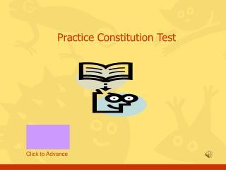 Practice Constitution Test