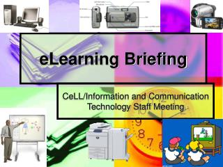 2007 News - eLearning Briefing PowerPoint