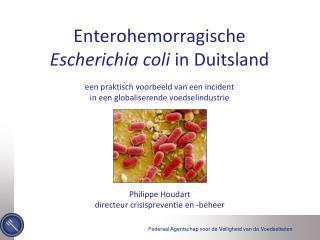 Philippe Houdart directeur  crisispreventie  en - beheer