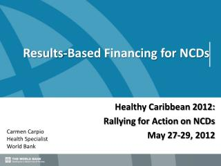 Results-Based Financing for NCDs