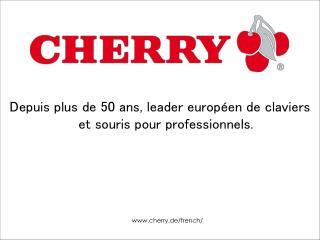 Depuis plus de 50 ans, leader européen de claviers et souris pour professionnels.