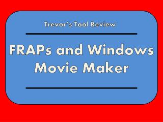 Trevor's Tool Review