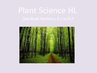 Plant Science HL