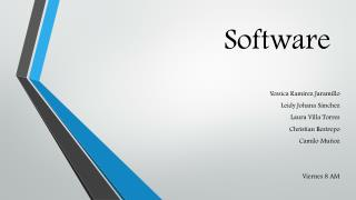 S oftware