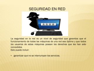 SEGURIDAD EN RED