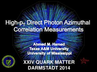 High- p T Direct Photon Azimuthal  Correlation  Measurements