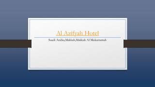Al Azhar Hotel Jeddah - Holdinn