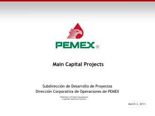 Main  Capital  Projects