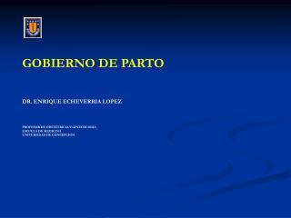 GOBIERNO DE PARTO